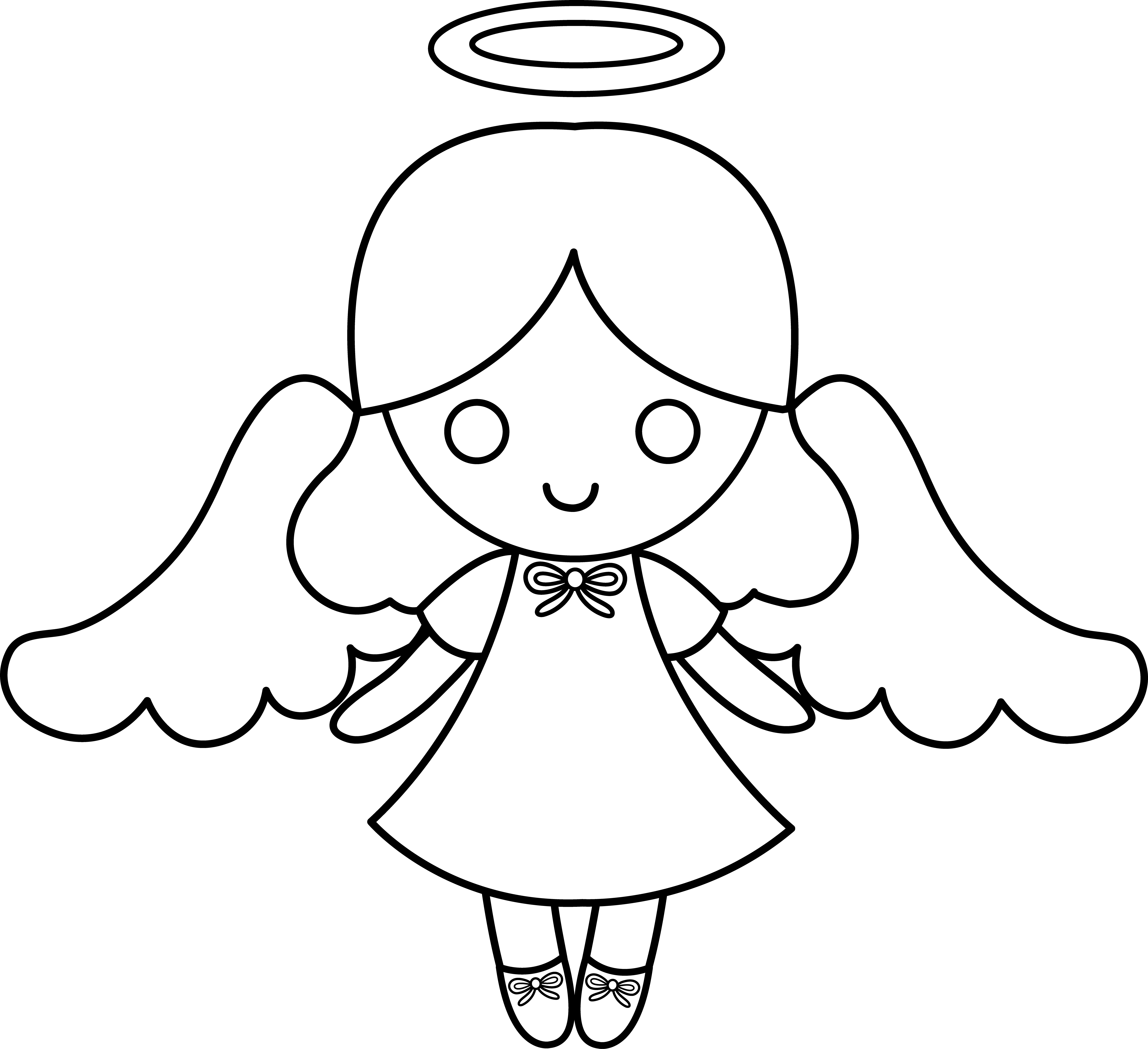 African american angel clipart free image black and white Free Little Angel Clipart, Download Free Clip Art, Free Clip Art on ... image black and white