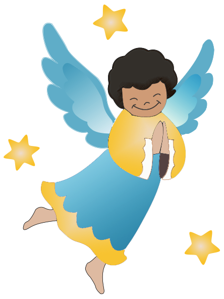 Kid angel clipart clip art freeuse stock Angel Clipart - Free Graphics of Cherubs and Angels | angels | Angel ... clip art freeuse stock