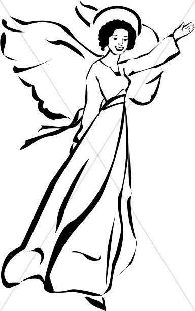 African american angels clipart black and white svg download African american angel clipart 7 » Clipart Portal svg download