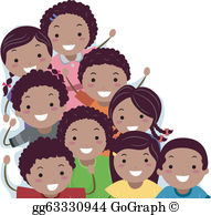 African american student clipart
