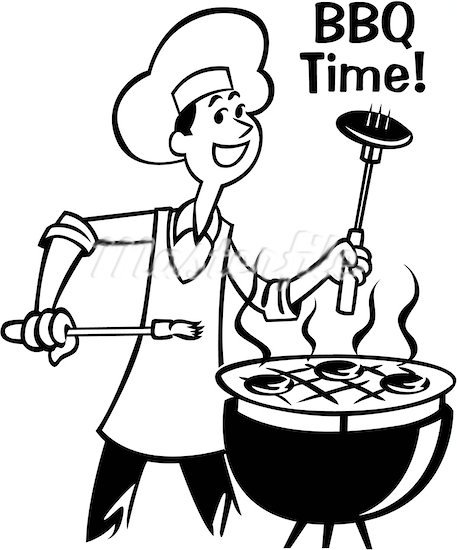 African american barbque cookout clipart vector black and white download Cookout Clipart Images | Free download best Cookout Clipart Images ... vector black and white download