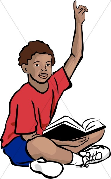 African american bible clipart banner freeuse African American Youth with Bible | Sunday School Clipart banner freeuse