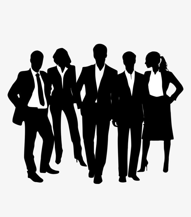 African american business man clipart png png royalty free Black Business People Silhouettes, Business Clipart, People Clipart ... png royalty free
