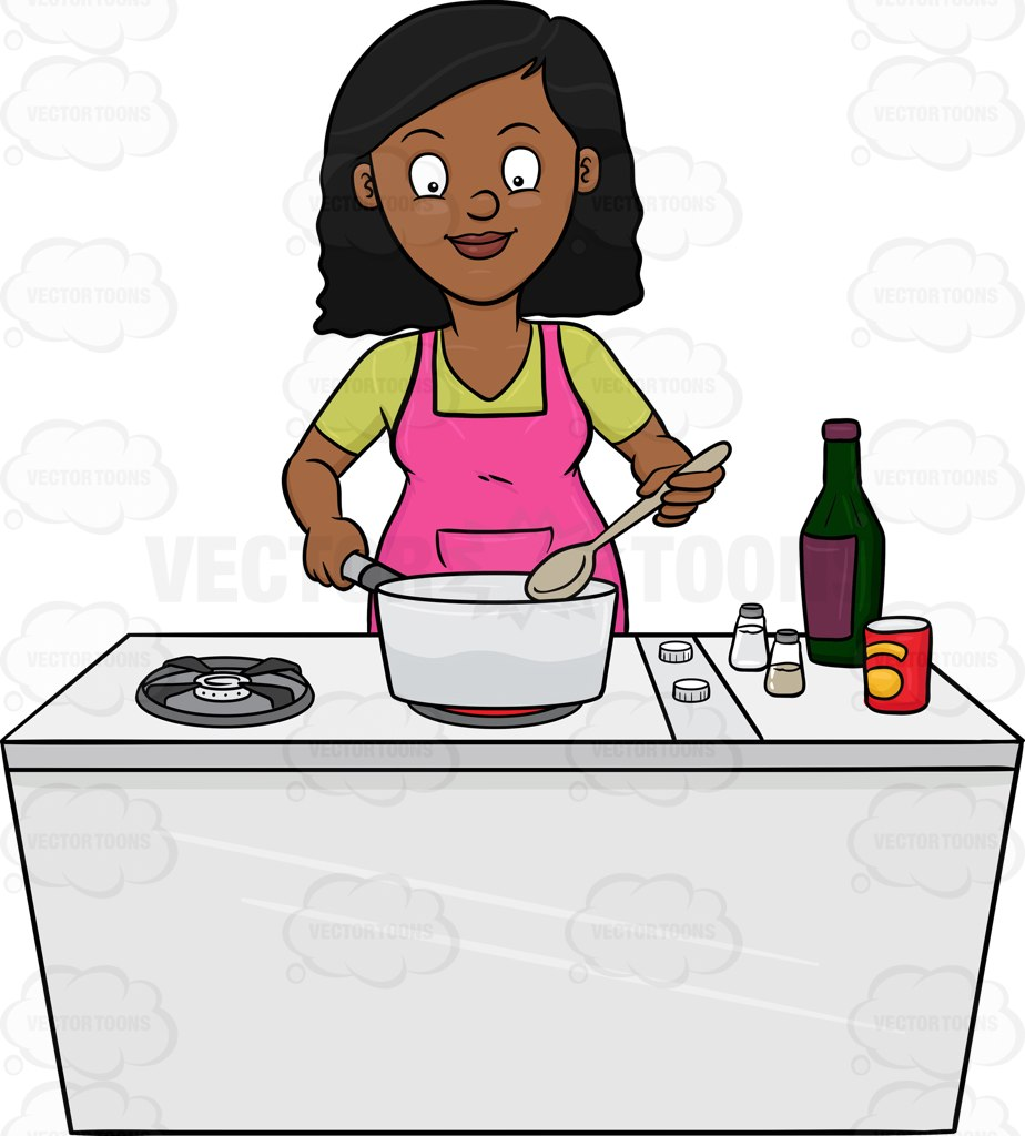 African american chef girl clipart clip black and white library Cooking clipart cartoon for free download and use images in ... clip black and white library