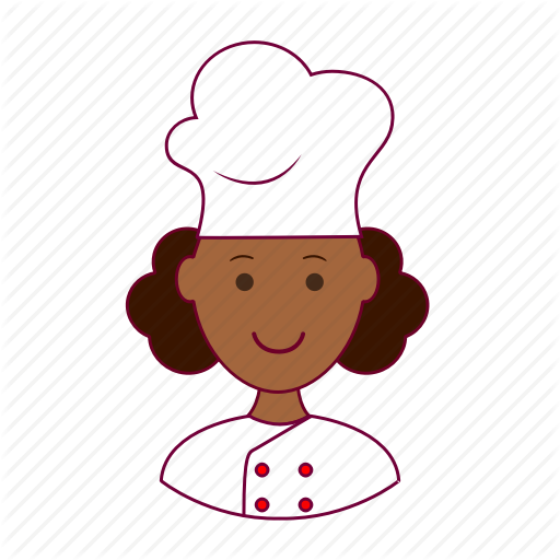 African american chef girl clipart clip art black and white Black Woman Icon at GetDrawings.com | Free Black Woman Icon images ... clip art black and white