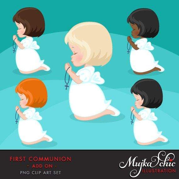 African american holy communion clipart clip transparent download First Communion Clipart for Girls. Communion characters, graphics ... clip transparent download