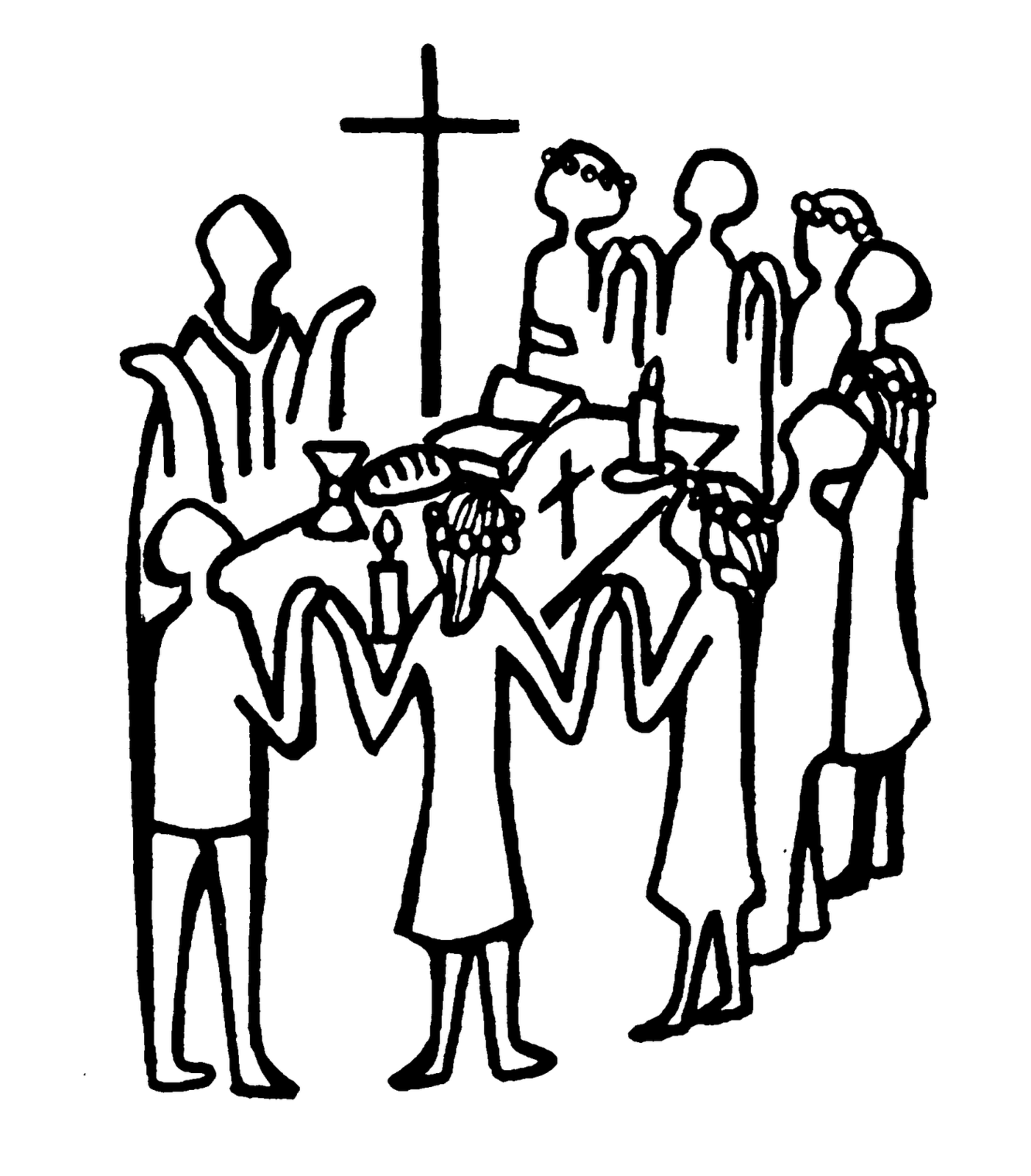 African american christian clipart communion graphic transparent Communion Clipart Black And White | Free download best Communion ... graphic transparent