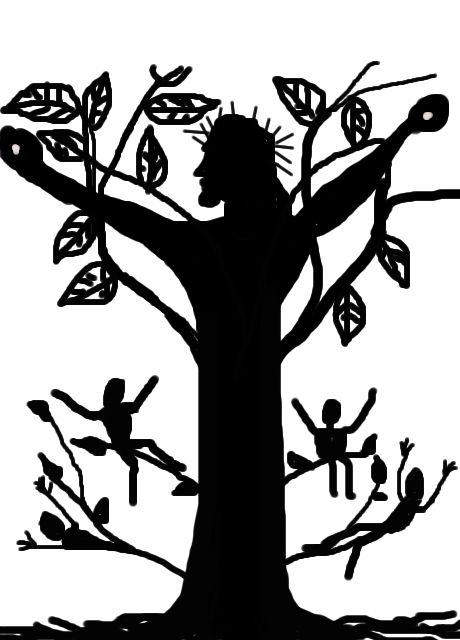 African american christian men clipart of the true vine graphic black and white download True Vine Jesus Christ | camp 2018 in 2019 | True vine, Vines, Crafts graphic black and white download