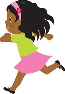 African american christian women standing on rocks clipart image library stock Running Clipart Image - A Little African American Girl Running ... image library stock