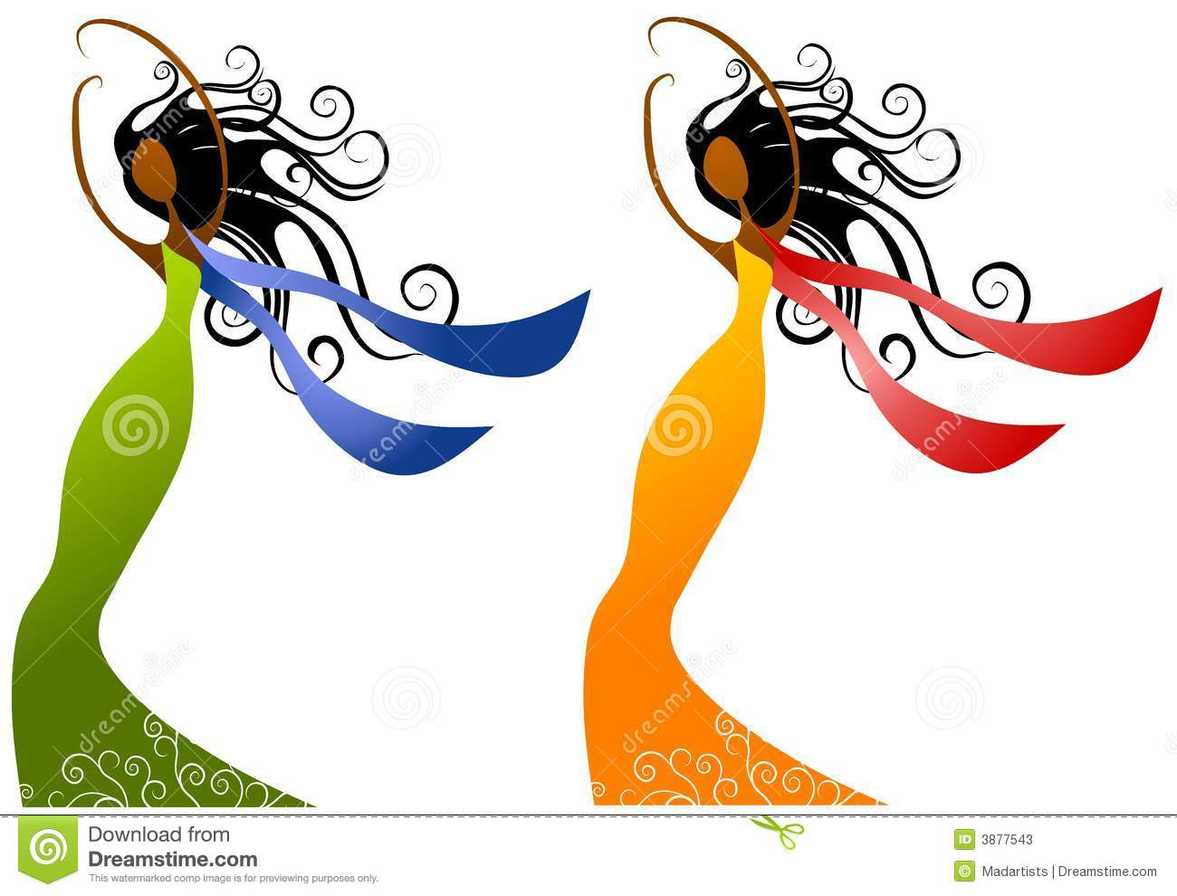 Afro woman clipart in color vector royalty free library Women Art Pictures | Free download best Women Art Pictures on ... vector royalty free library