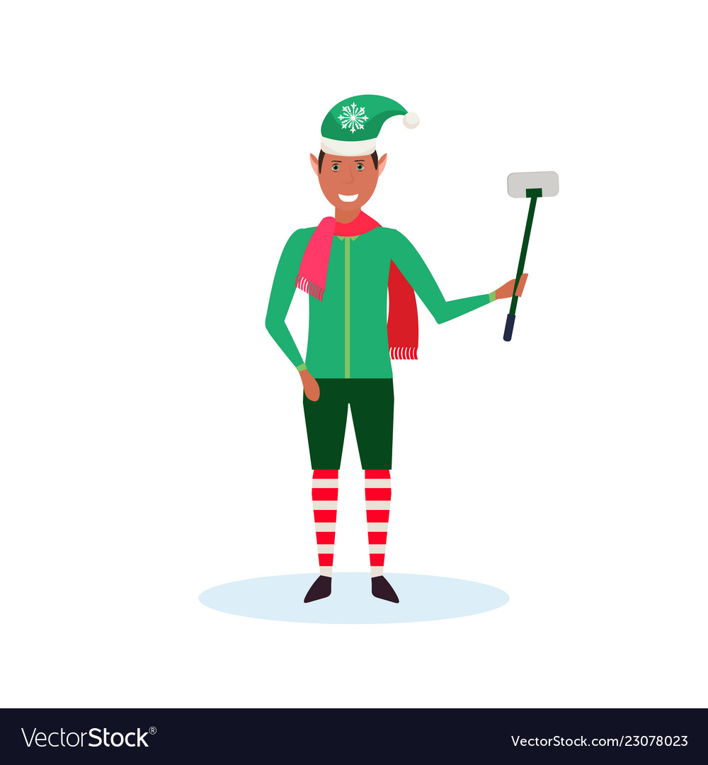 African american elf clipart png black and white African american man christmas elf santa helper png black and white