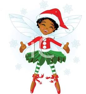 African american elf clipart graphic library download African American Christmas Fairy - Royalty Free Clipart Picture ... graphic library download