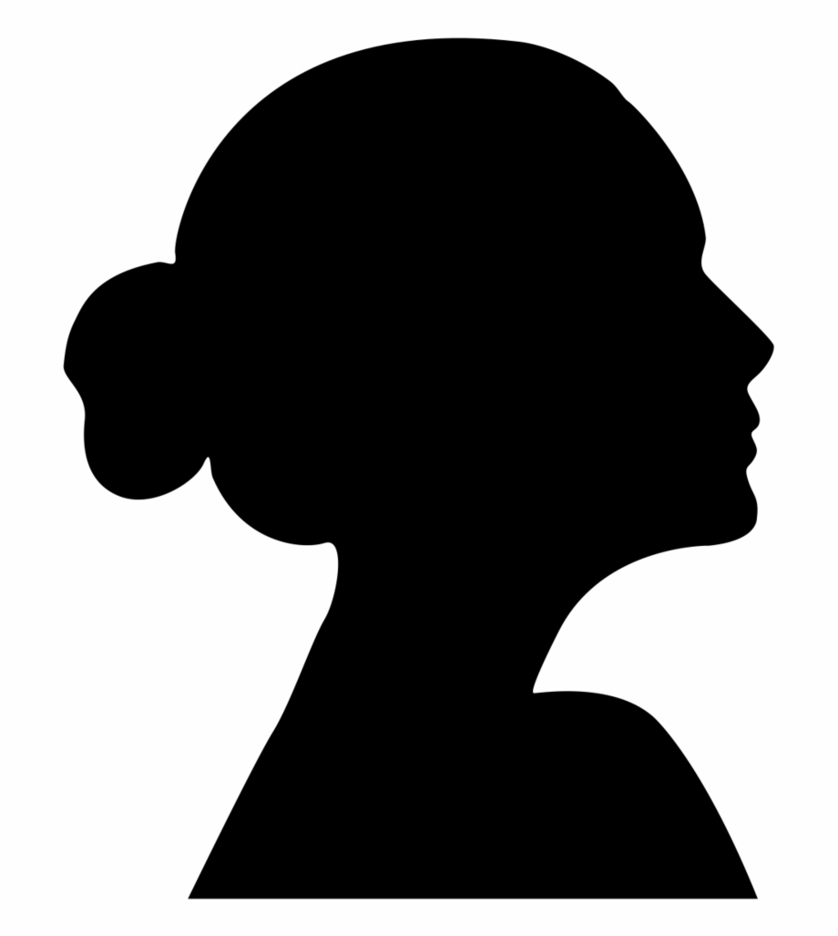 African american faces clipart png freeuse library Silhouette, Child, Woman, Face Png Image With Transparent - Girl ... png freeuse library