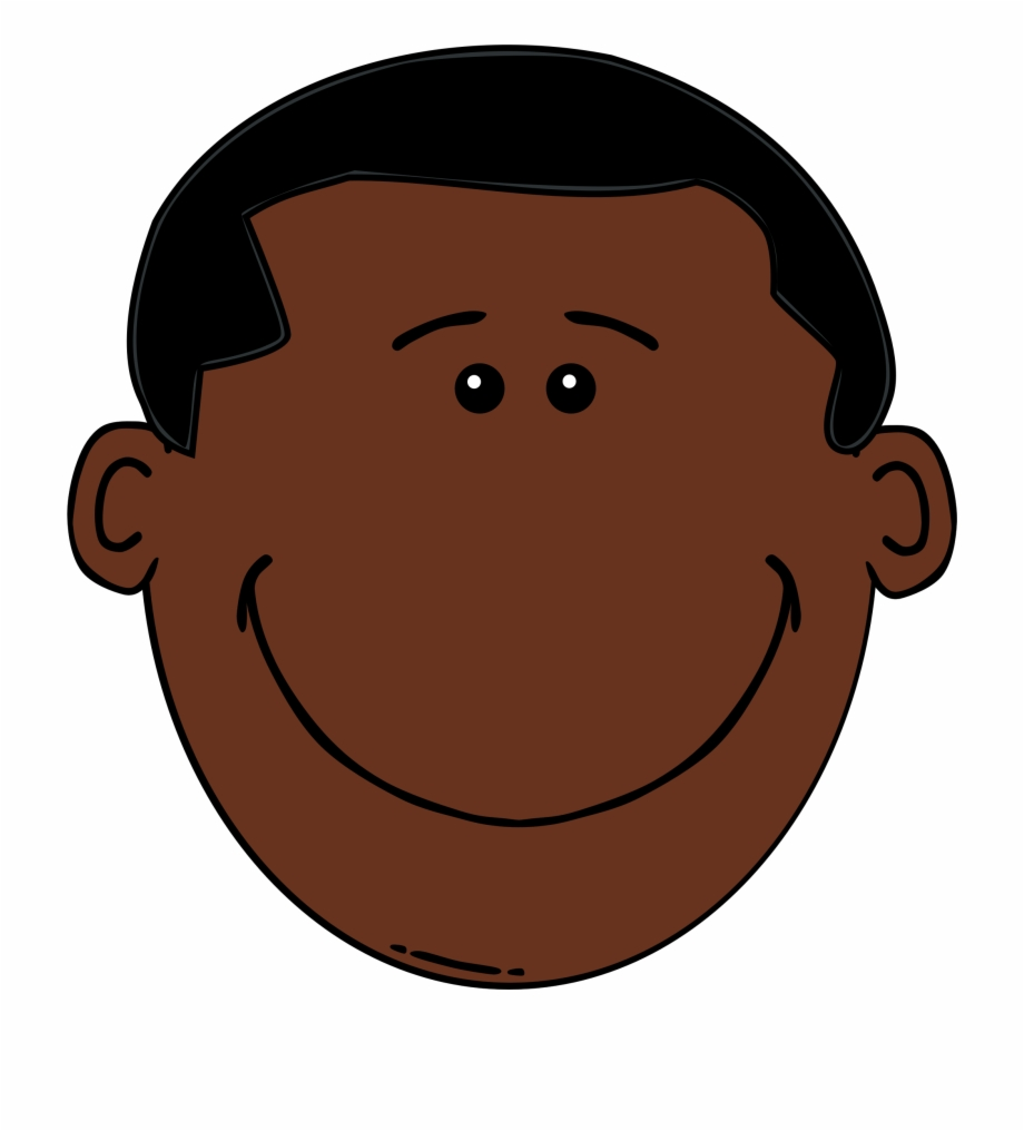 African american faces clipart