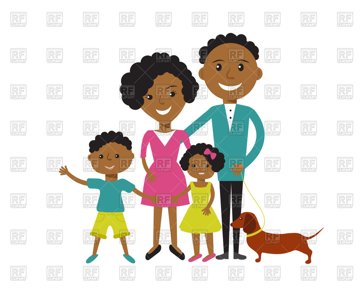 African american mom and dad clipart transparent clipart African american family clipart 8 » Clipart Station clipart