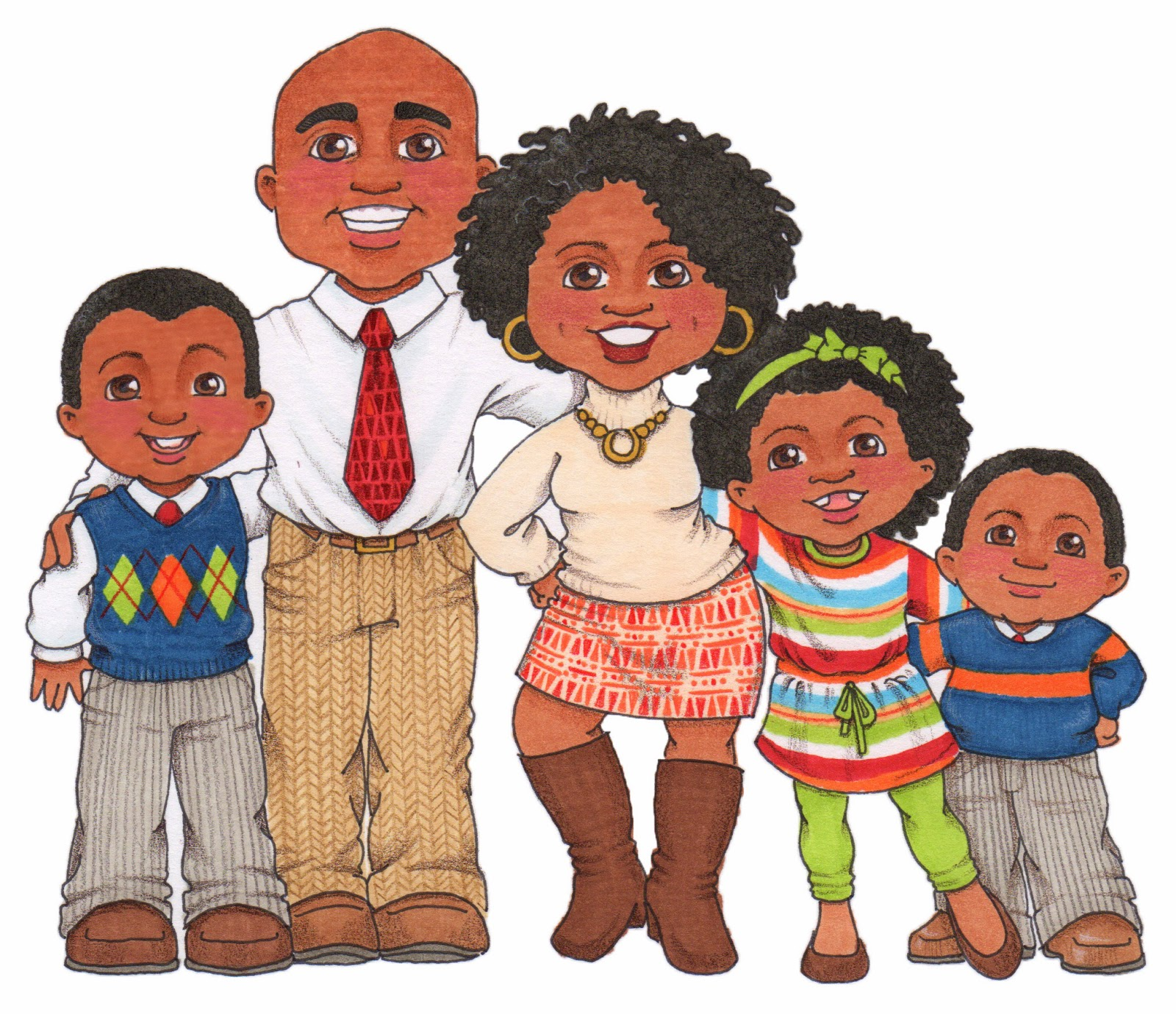 African american smith clipart