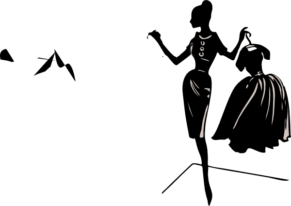 Womens shopping clipart picture black and white stock 77+ Fashion Clip Art | ClipartLook picture black and white stock