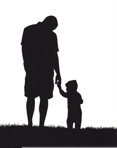 African american father and son clipart png library stock African American Father And Son Clipart   Free Images at Clker.com ... png library stock