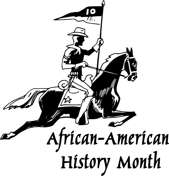 African american history black and white clipart png library African American History Month clip art Free vector in Open office ... png library