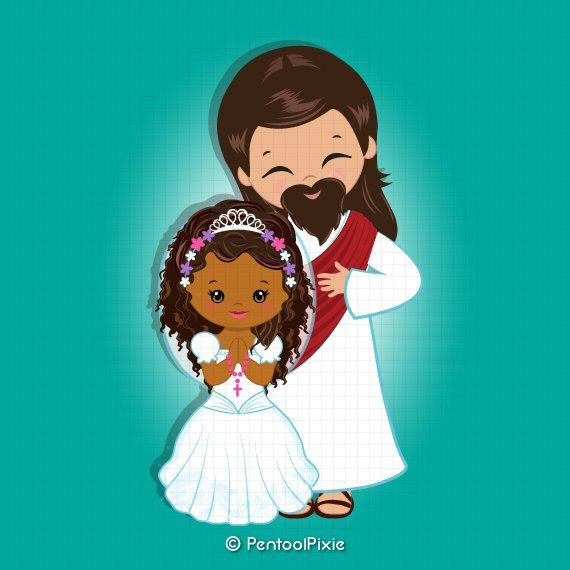 African american holy communion clipart graphic free Jesus clipart, Jesus Christ, First communion clipart, African ... graphic free