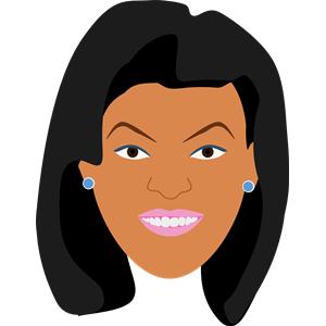 African american makeup clipart jpg transparent stock Woman in Makeup clipart, cliparts of Woman in Makeup free download ... jpg transparent stock
