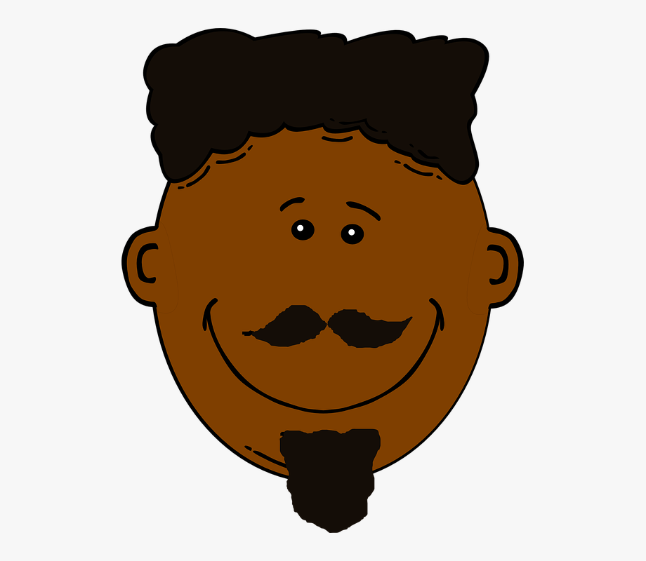 African american man clipart png free download Blacking Clipart Face - African American Man Clip Art #1335649 ... png free download
