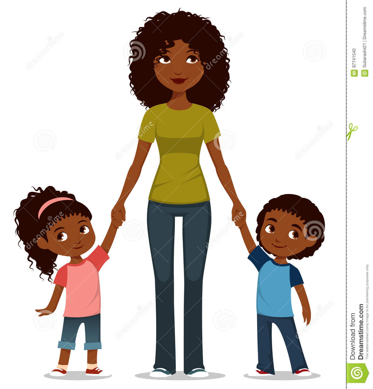 African american mom and dad clipart transparent jpg library library African American Mother With. Free Mothers Clipart Mom Toddler ... jpg library library