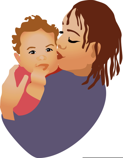 African american mom clipart svg freeuse library African American Mother And Baby Clipart | Free Images at Clker.com ... svg freeuse library