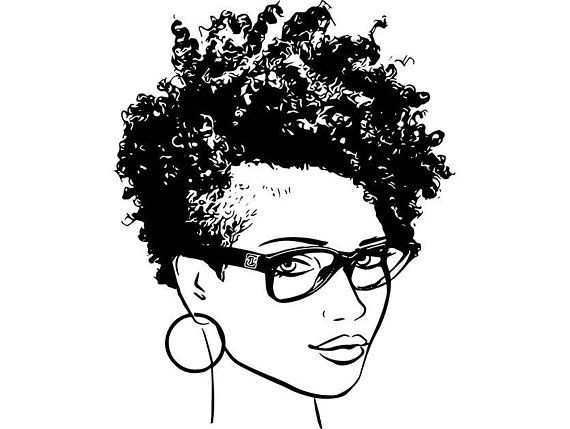 African american natural hairstyles clipart royalty free library Afro Woman svg Princess Queen Short Afro Hair Beautiful African ... royalty free library