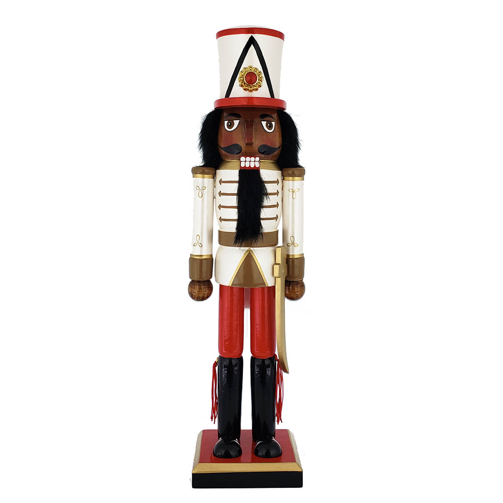 African american nutcracker clipart image black and white download Fancy Decorative Nutcrackers in All Sizes and Styles | Nutcracker ... image black and white download