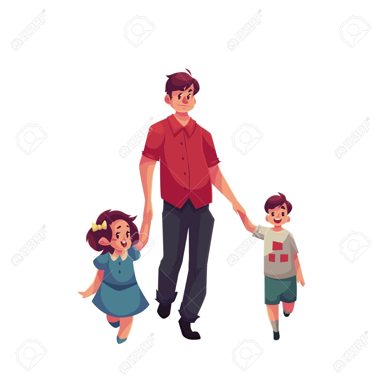 African american parents walking holding child hand clipart graphic black and white library Father Walking Cliparts | Free download best Father Walking Cliparts ... graphic black and white library