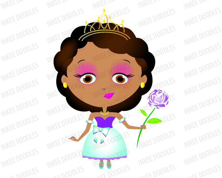 African american princess clipart black and white picture freeuse Black Princess Clipart   Free download best Black Princess Clipart ... picture freeuse