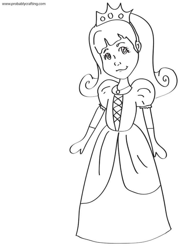 Princess black and white clipart graphic library Free Black Princess Cliparts, Download Free Clip Art, Free Clip Art ... graphic library