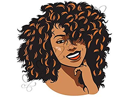 Clipart african american queen image royalty free stock Amazon.com: Yetta Quiller Afro Woman Color Nubian Princess Black ... image royalty free stock