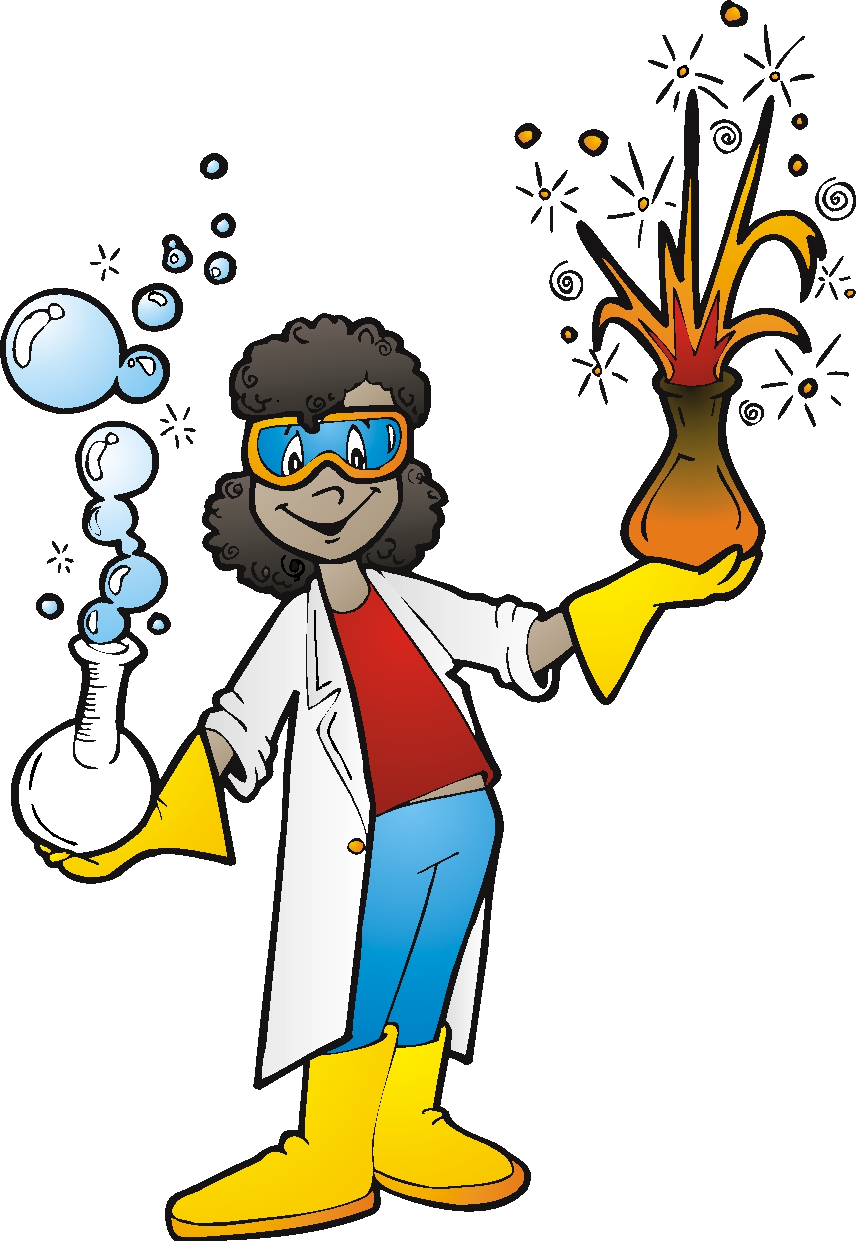 Mad scientist pictures clipart jpg freeuse download African american scientist man clipart - Clip Art Library jpg freeuse download