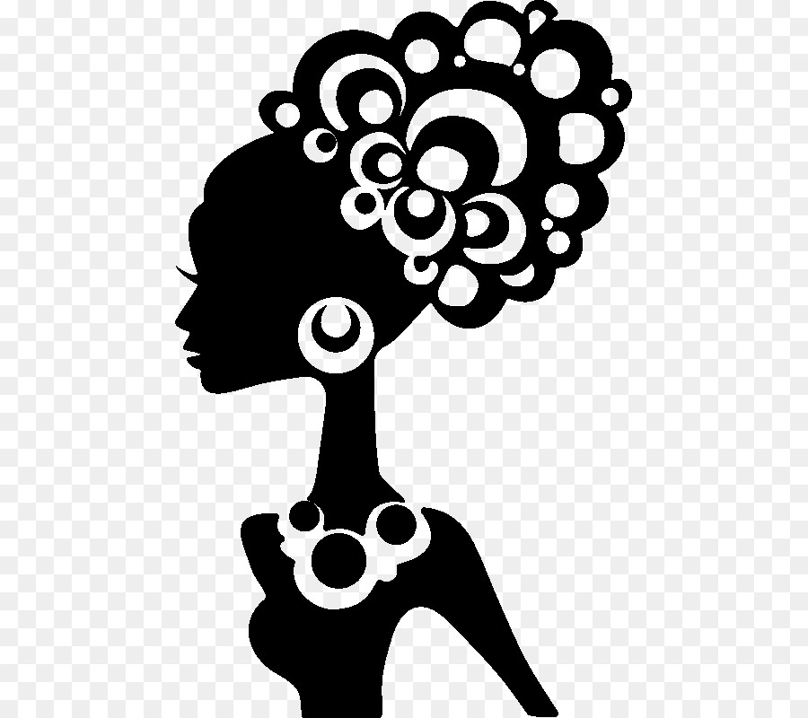 African american smith clipart clipart Silhouette Black African American Female Clip art - Afro Lady ... clipart