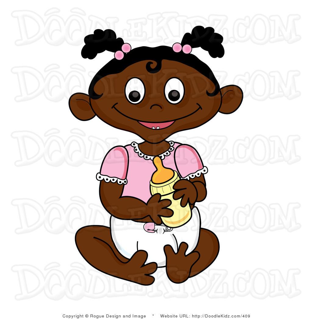 Black girl toddler clipart svg royalty free African American Girl Student Clipart   Clipart Panda - Free Clipart ... svg royalty free