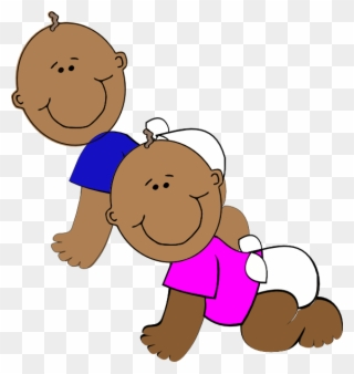African american twin boys clipart jpg download This Free Clip Arts Design Of African-american Twins - Cartoon Black ... jpg download