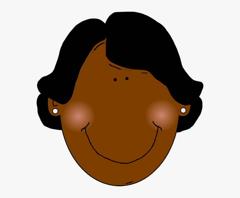 African american women face clipart image black and white download Black Women Clip Art - Black Woman Face Clipart - Free Transparent ... image black and white download