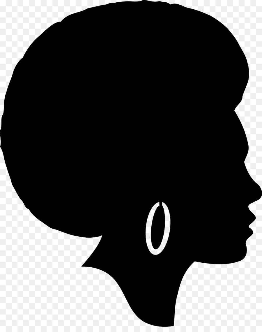 African american women face clipart png freeuse library Free African American Woman Face Silhouette, Download Free Clip Art ... png freeuse library
