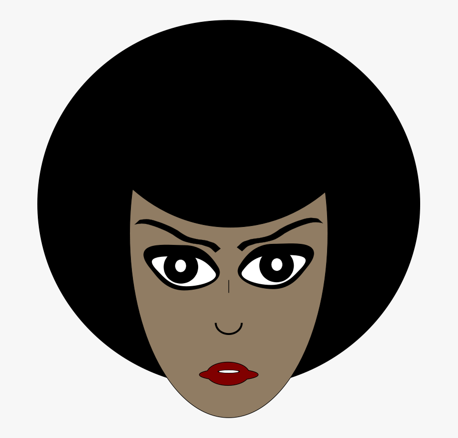 African american woman face clipart library Black Women Face Transparent #745726 - Free Cliparts on ClipartWiki library