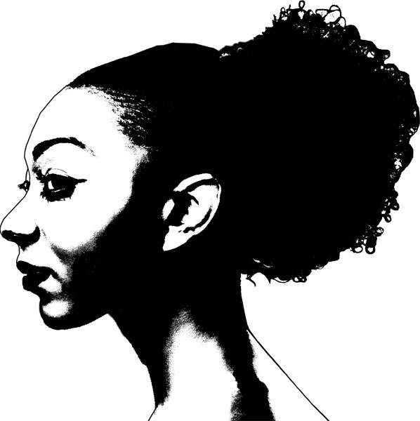 African american women face clipart banner freeuse library Pin by Ya\'Lisha Wooden on Melanin Poppin\' | Digital stamps, Woman ... banner freeuse library