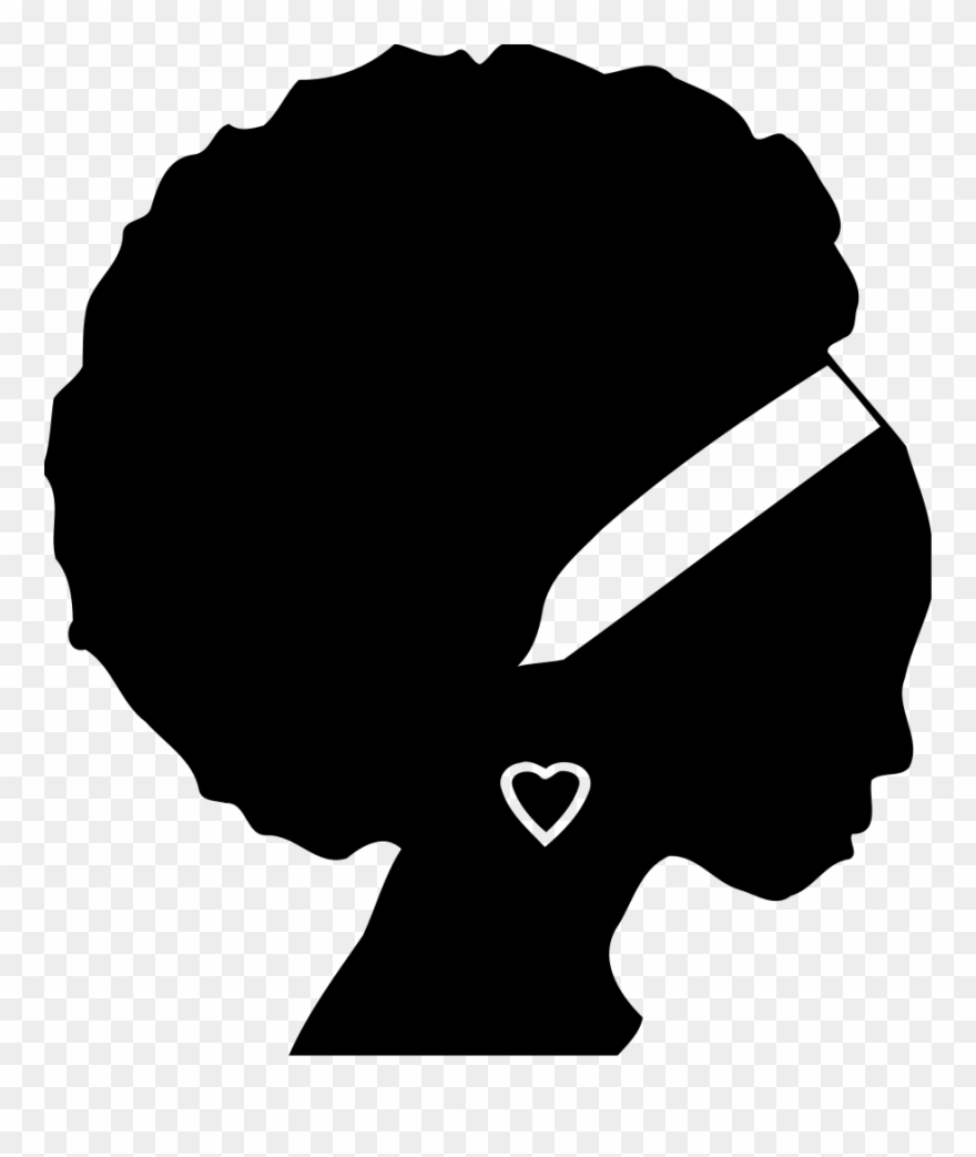 Black and white clipart of african american women banner free African Americans Black Woman Silhouette Female - African American ... banner free