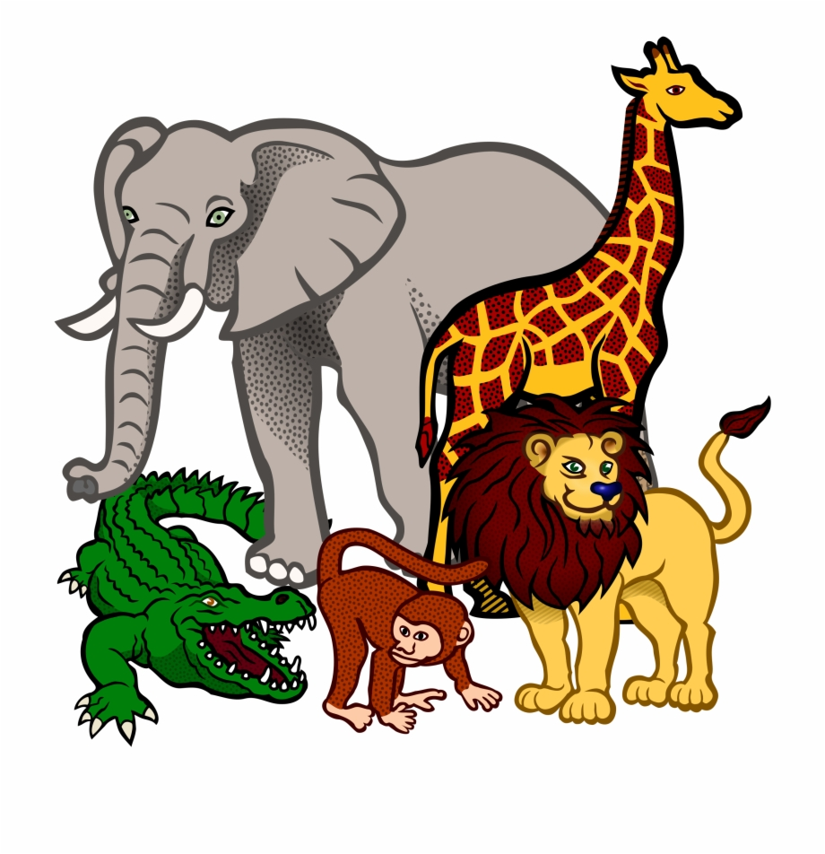 Kingdom africa animals png. Free african animal clipart