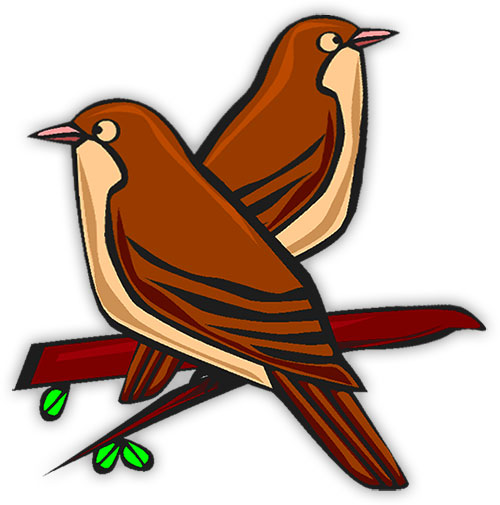 African birds clipart