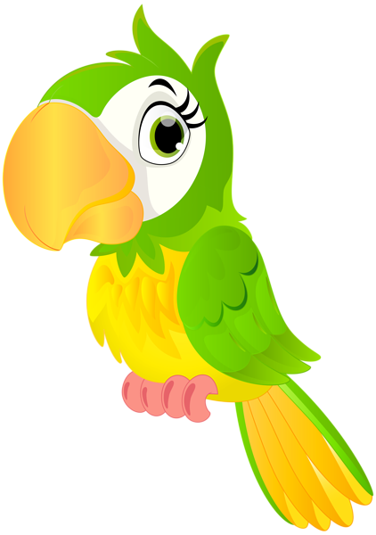 African birds clipart clip art library download Pin by Jacqueline on dessin | Parrot cartoon, Parrot drawing ... clip art library download