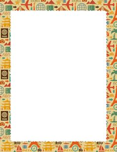 African border designs clipart picture free download Africa clipart border, Africa border Transparent FREE for download ... picture free download