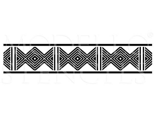 African border line clipart clip art black and white stock African Border Designs 2 - 919 X 1300 - Making-The-Web.com clip art black and white stock