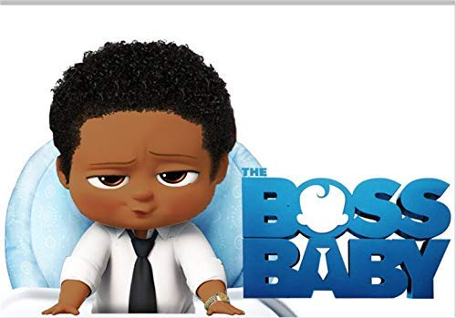 African boss baby clipart logo clip art library download 7x5 Boss Baby Backdrop African American Black Boy Photo Background No  Wrinkle Custom Name Baby Shower Tabletop Banner Newborn Happy 1st Birthday  ... clip art library download