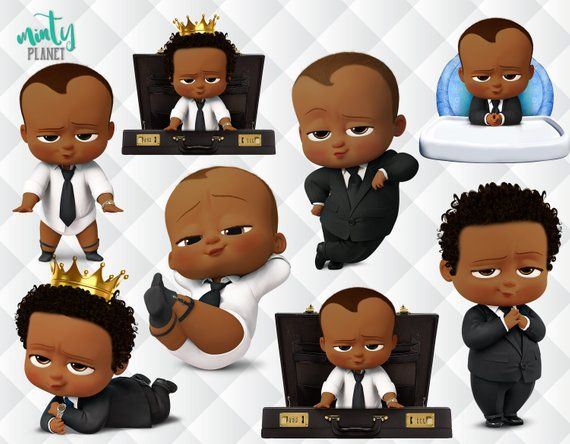 African boss baby clipart logo banner library download African American Boss Baby, Afro Boss Baby characters full quality ... banner library download